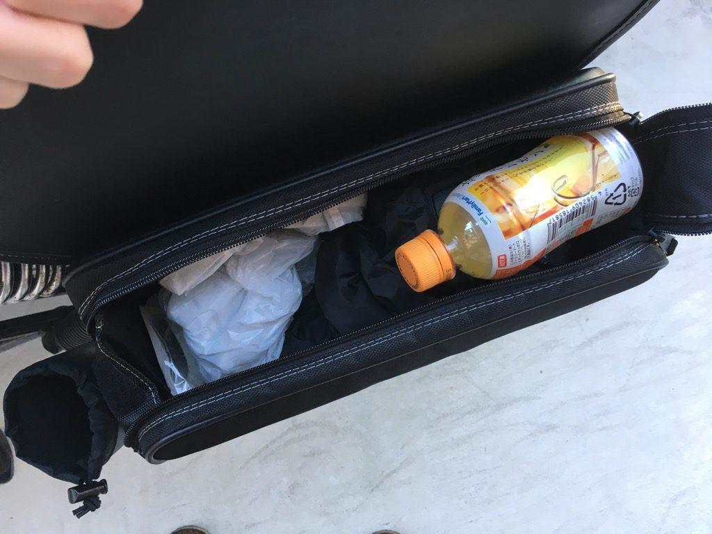 デグナーのサイドバッグ「nb-1」の中