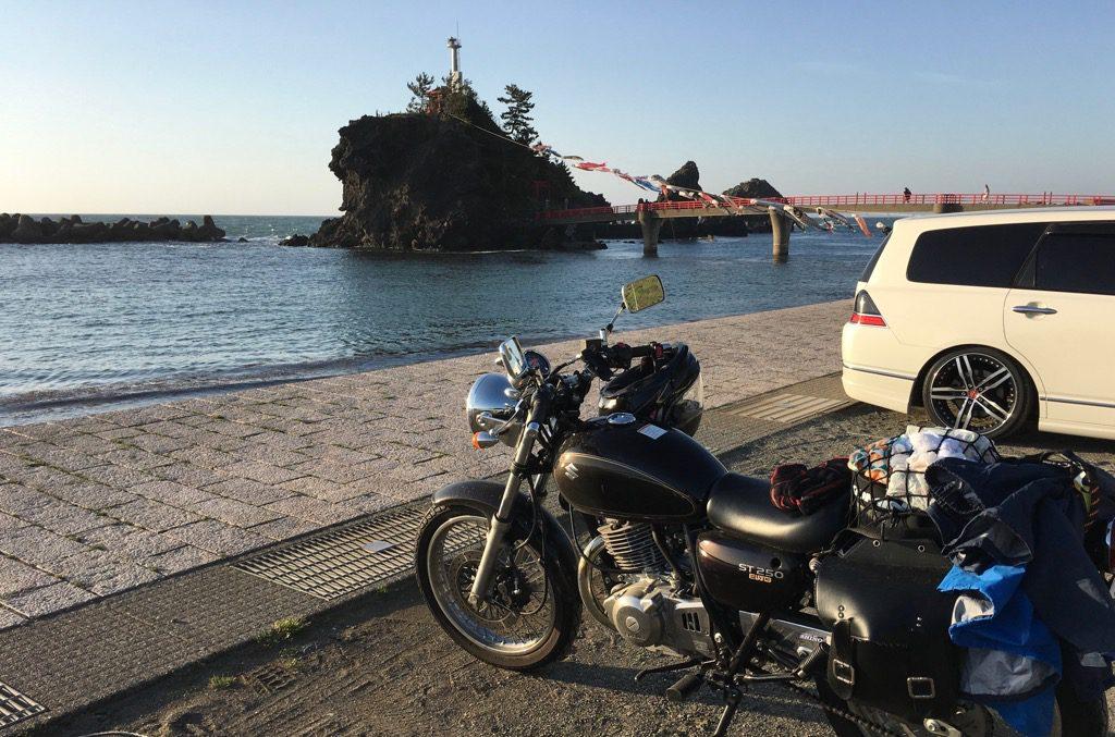 バイクは一人旅がよく合う