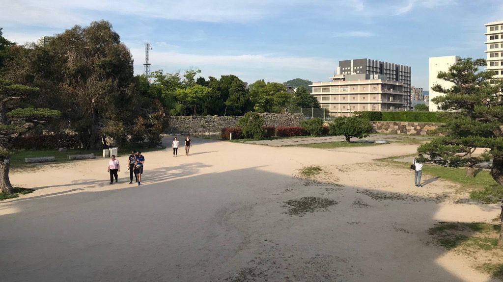 広島城「二の丸(跡)」