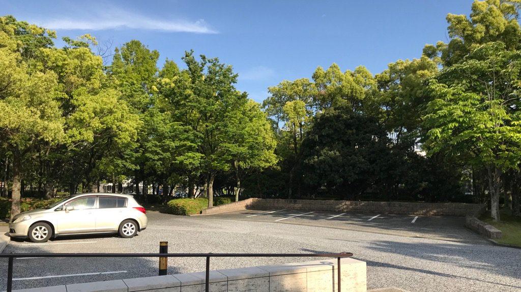 ひろしま美術館駐車場