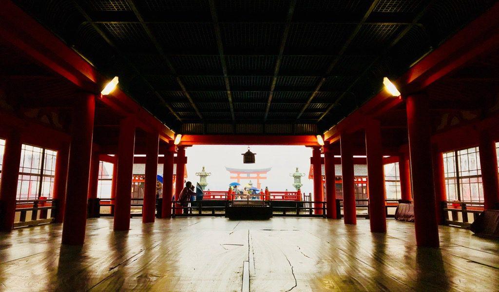 広島厳島神社内部