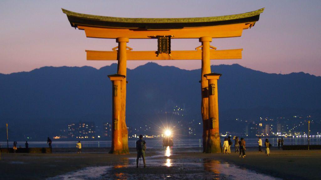 宮島厳島神社の鳥居