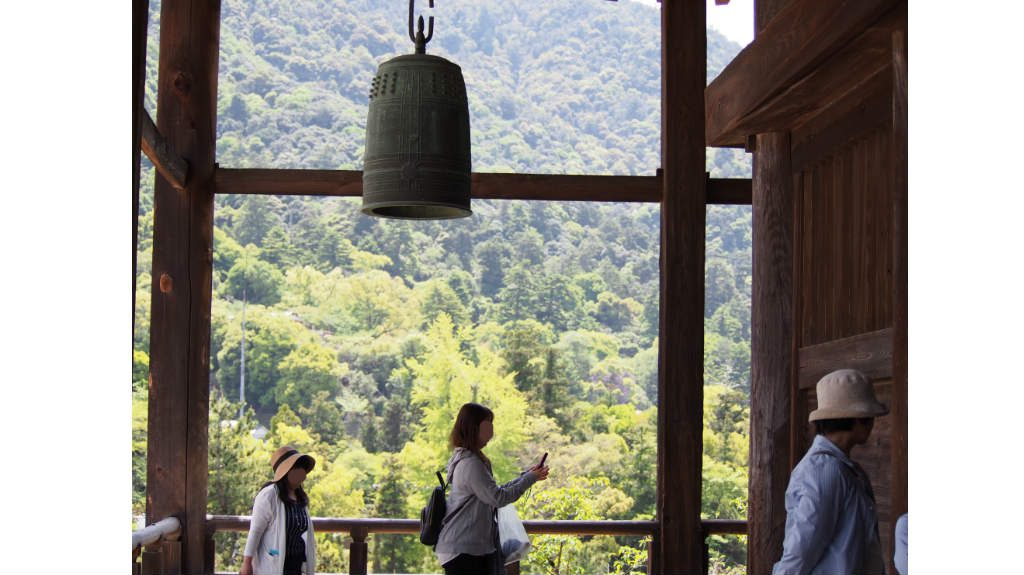 千畳閣(豊国神社)からの眺め