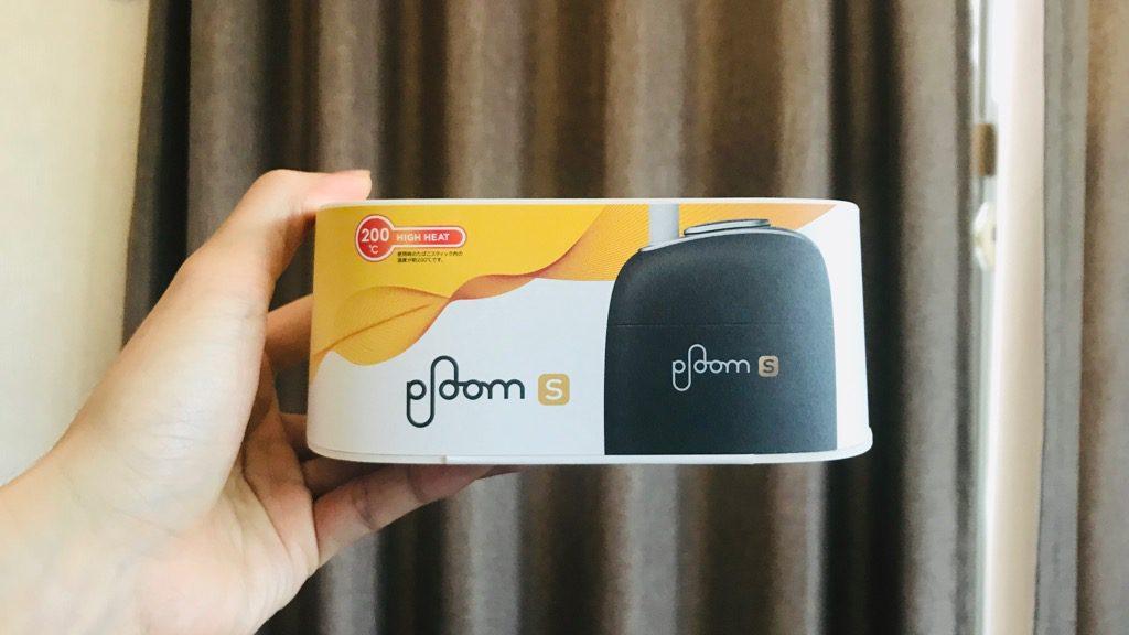 Ploom S(プルーム・エス)スターターキットの開封:外箱と内容物(本体・アダプタ・ケーブル・クリーニングスティック・説明書・保証書)