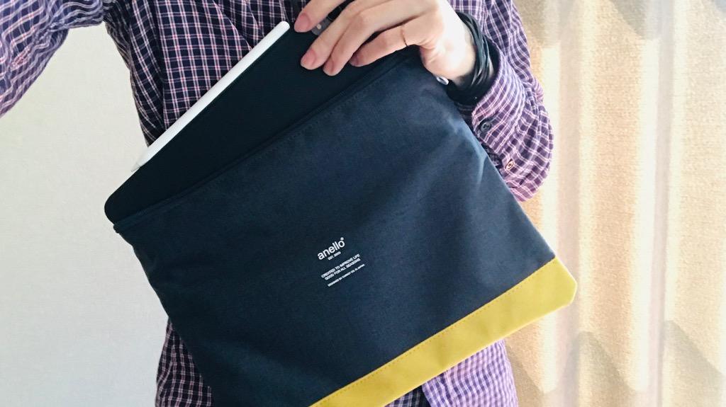 iPad Proを便利にする、買うべきアイテム⑤:サコッシュ